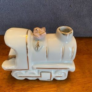 Vintage 1940s Nippon Smoking Train Engine Ashtray